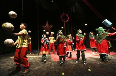 Afghan children's circus