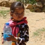 Picture of girl in Bamiyan